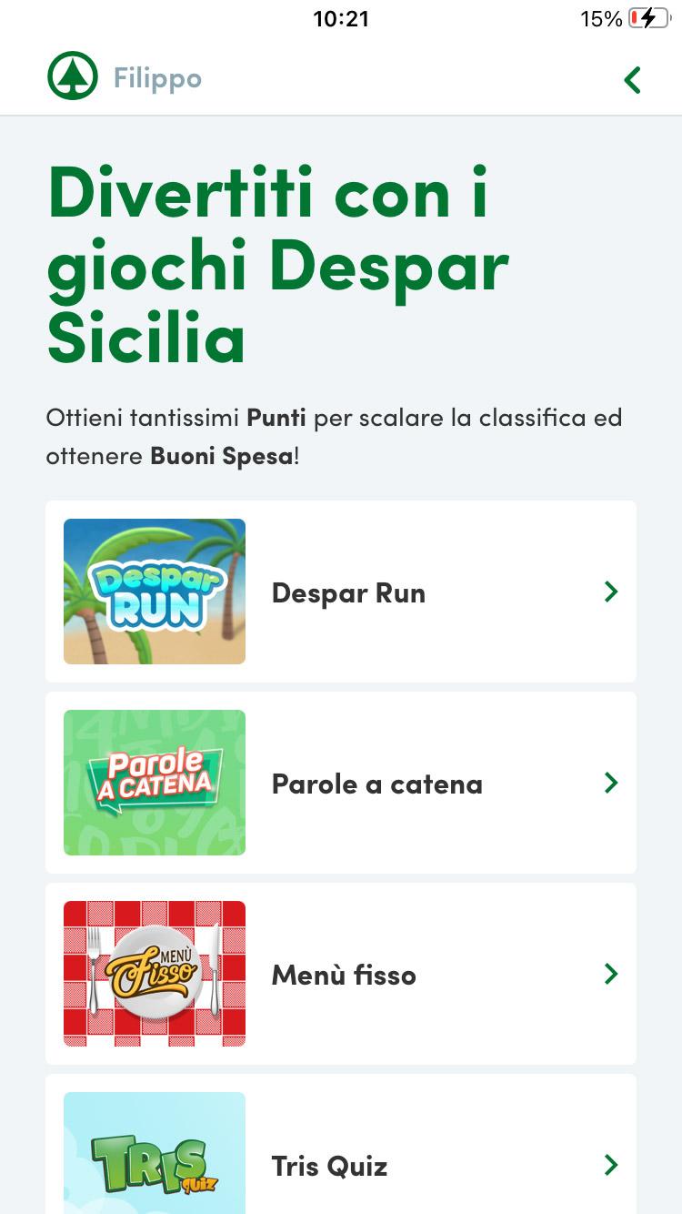 app despar sicilia